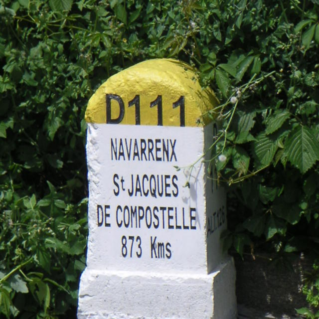 Borne pèlerinage à Navarrenx