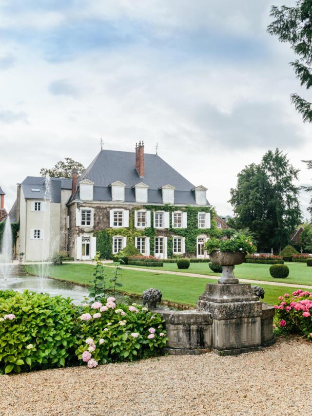 Chateau De Laas Jardin A La Francaise 3