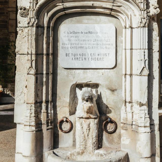 Fontaine Du Sanglier Salies De Bearn