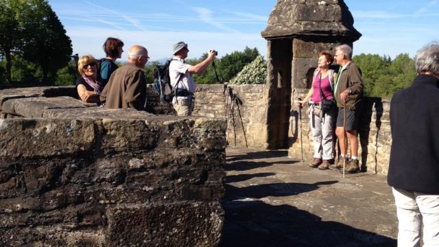 Pèlerins à Navarrenx